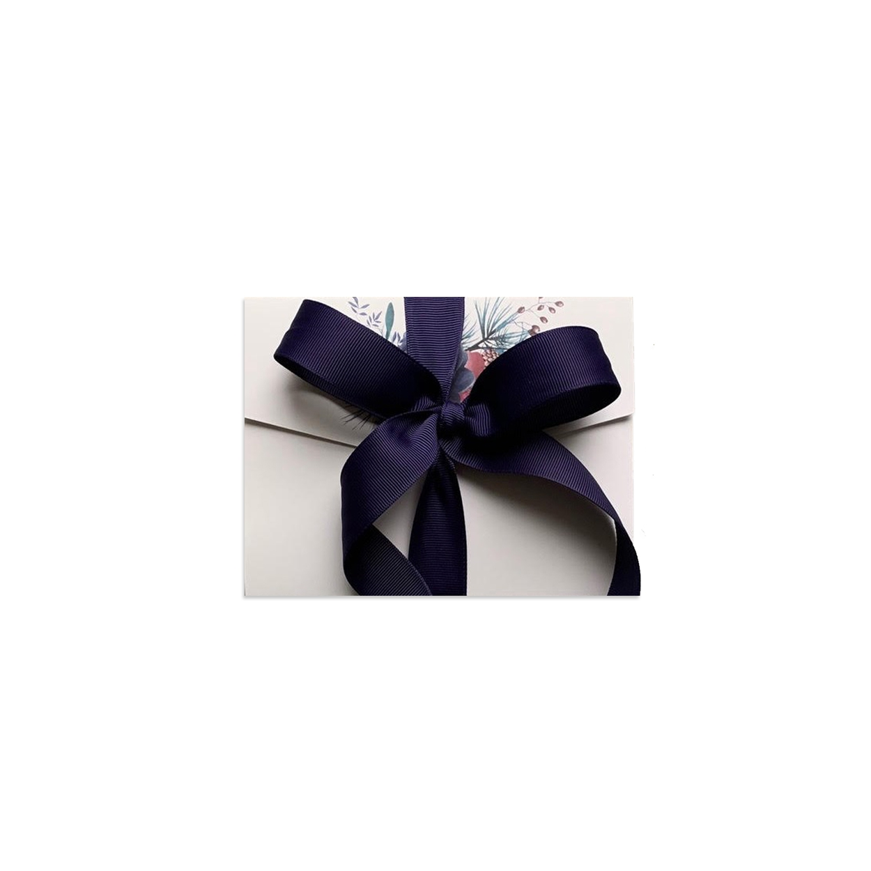 Gift envelope with card and ribbon, Winter Fairy tale