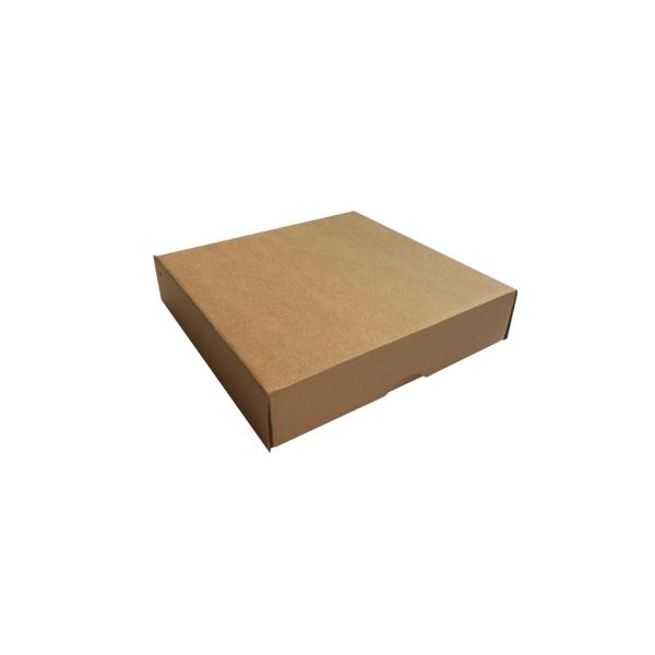 Brūna kartona kaste, Kvadrāts