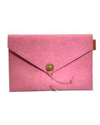 Ipad aploksne, rozā filca, PAP