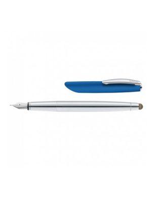 Tintes pilsdspalva ar rakstāmspalvu Icone Stylus, zils korpuss