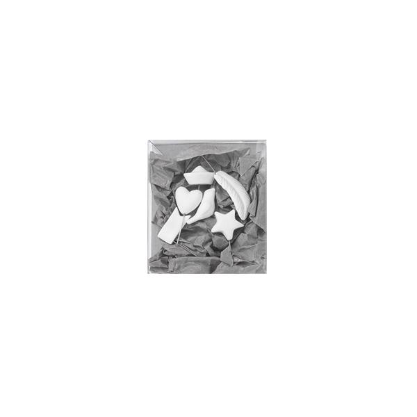 Dekoratīvas Porcelāna adatiņas, komplekts