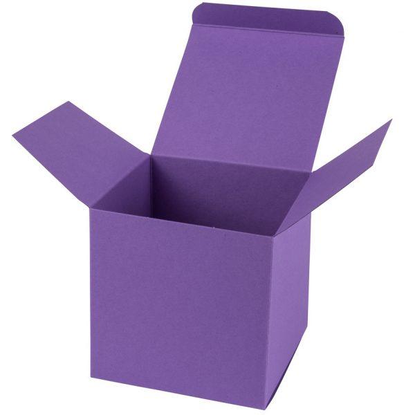 Kartona kaste kubs, M, Lavender
