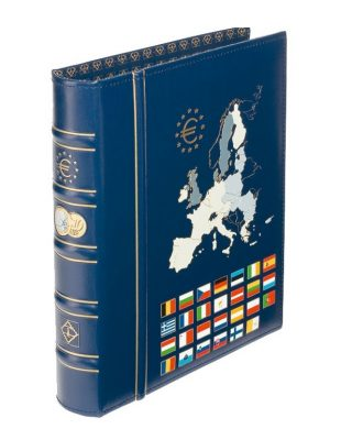 Rinķu mape Optima, eiro monētām