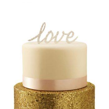 Kūkas dekors Love