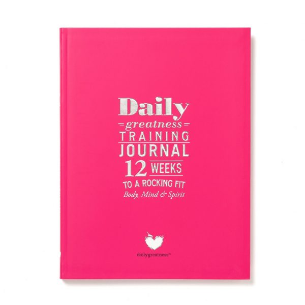 Piezīmju grāmata Dailygreatness Training Journal