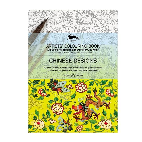 Krāsojamā grāmata Chinese Designs