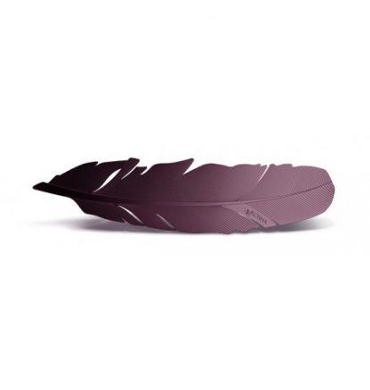 Grāmatzīme Spalva, nerūsējoša tērauda, violeta