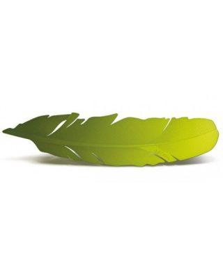 Grāmatzīme Spalva, nerūsējoša tērauda, zaļa