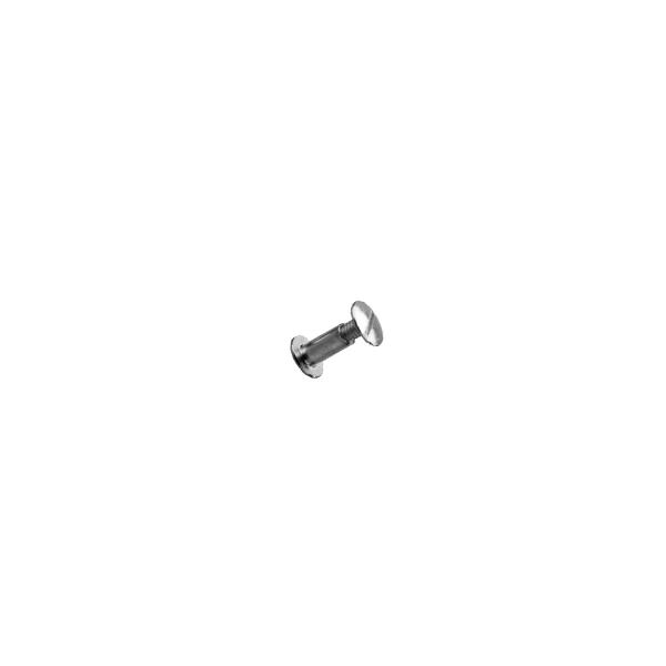 Savienojuma skrūve, niķelis, 7 mm gara