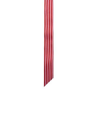 Saiņošanas lenta Sarkana, Baltas svītras, plata