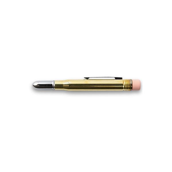 Grafīta zīmulis misiņa korpusā, zelta krāsas korpuss