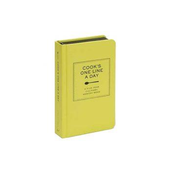 Atmiņu pierakstu žurnāls Cooks One Line a Day