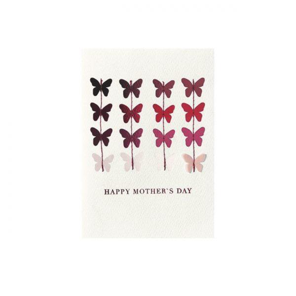 Kartīte Happy Mothers Day, tauriņi