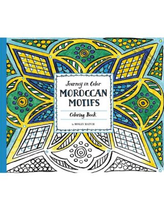 Krāsojamā grāmata Moroccan Motifs