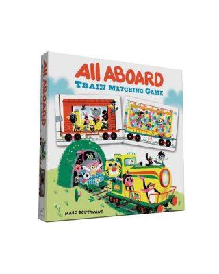 Visi uz klāja! Vilcienu minēšanas spēle