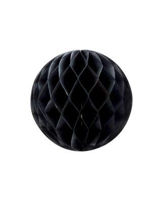 Šūnu bumba, melna, 20cm