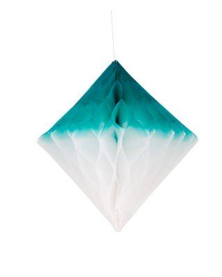 Šūnu dimants, balts un zilganzaļš