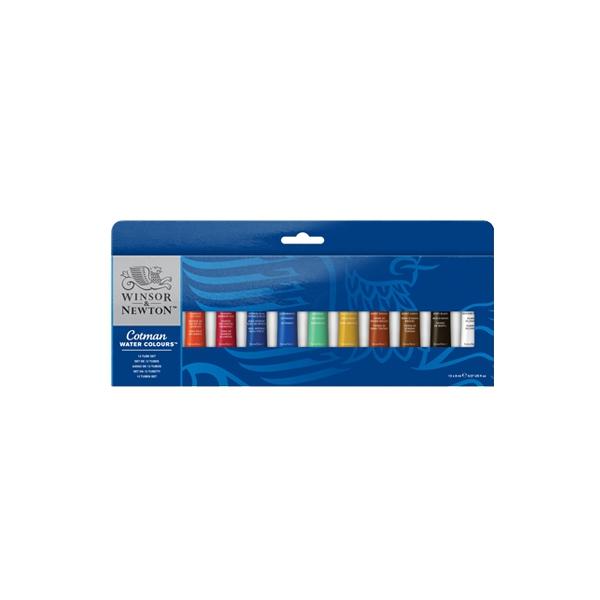 Akvareļu krāsu komplekts Cotman Tube Set, 12 x 8 ml