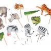 Rotaļa Dzīvnieku savienošana, papīra lelles