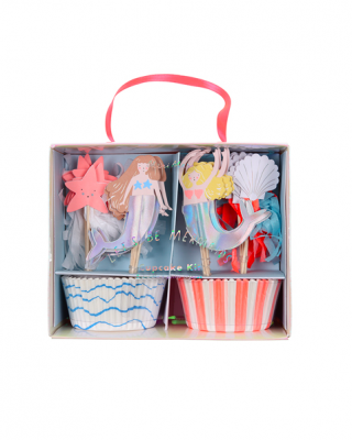 Kūciņu dekorēšanas komplekts Lets be mermaids
