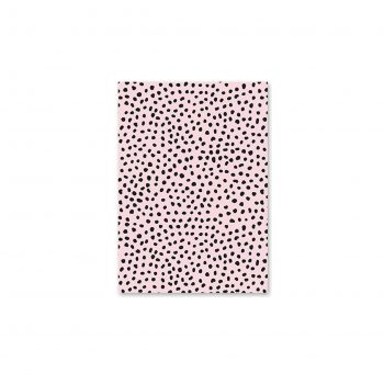 Pastkarte Light Pink Print