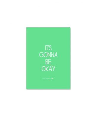 Pastkarte It is Gonna Be Okay