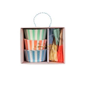 Kūciņu dekorēšanas komplekts Pastel & Tassel