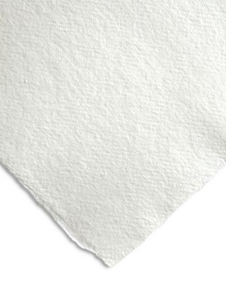 Rokas lējuma papīra loksne, balta, 640 g, 15 cm x 21 cm