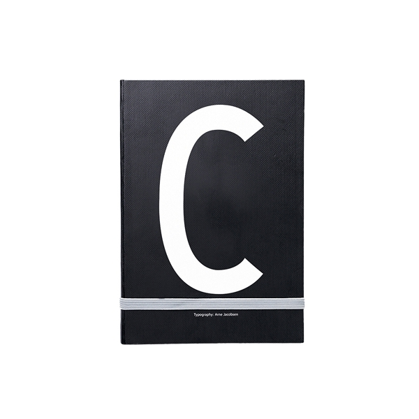 Piezīmju grāmata Typography: C