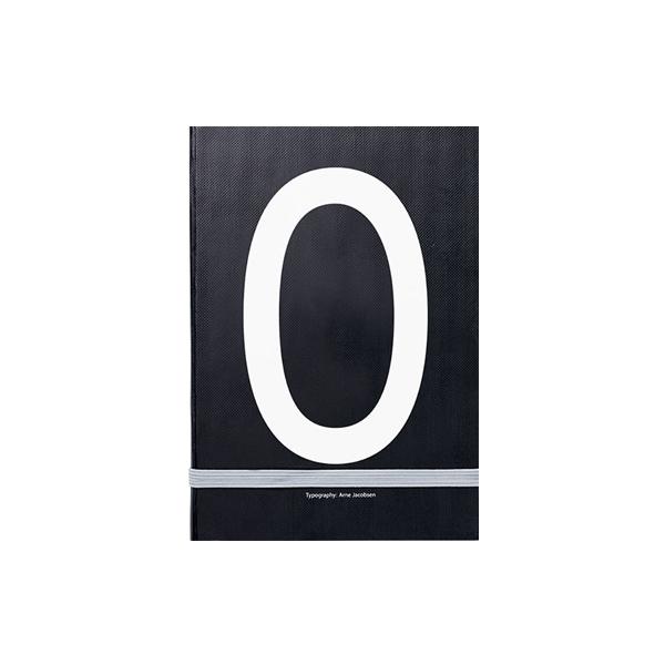 Piezīmju grāmata Typography: O