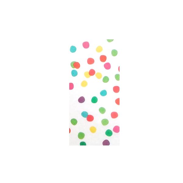 Zīdpapīru komplekts Krāsaini punkti, 3 gab.