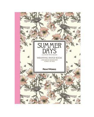 Dāvanu ietinamo papīru grāmata Summer days