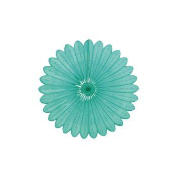 Papīra dekorācija Vēdeklis, Mint, 30 cm