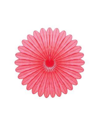 Papīra dekorācija Vēdeklis, Pink, 30 cm