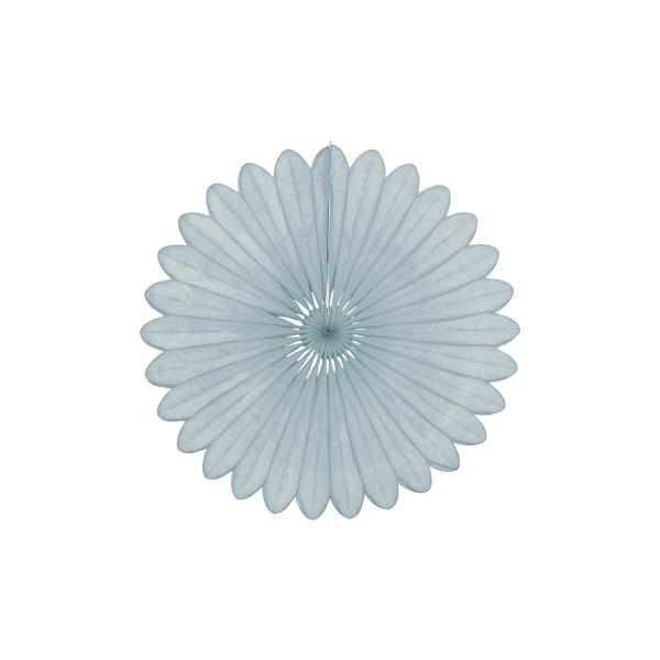 Papīra dekorācija Vēdeklis, Grey, 30 cm