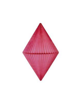 Papīra dekorācija Dimants, Mauve, 25 cm