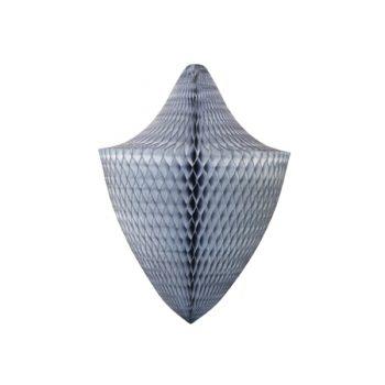 Papīra dekorācija Lustra, Grey, 30 cm