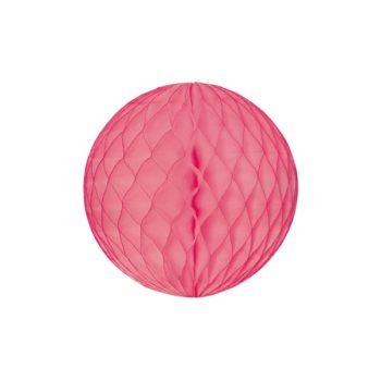 Papīra dekorācija Šūnu bumba, Mauve, 30 cm