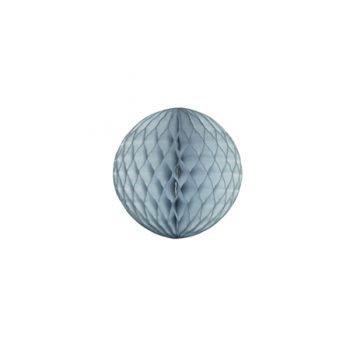 Papīra dekorācija Šūnu bumba, Grey, 15 cm
