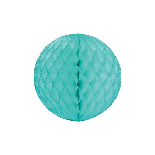 Papīra dekorācija Šūnu bumba, Mint, 30 cm