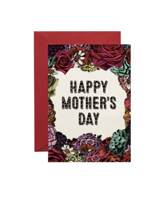 Kartīte Happy Mothers Day Floral