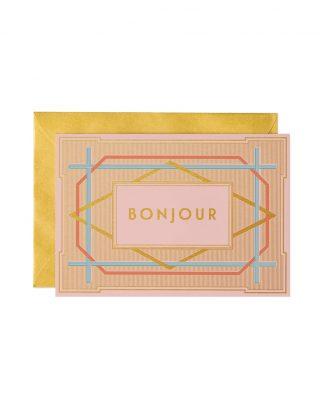 Kartīte Bonjour Art Deco
