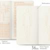 Skiču grāmatu komplekts Fashionary Felt, Mens figures