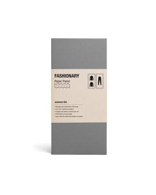 Skiču lapu komplekts Fashionary Paper Panel, Womens flat