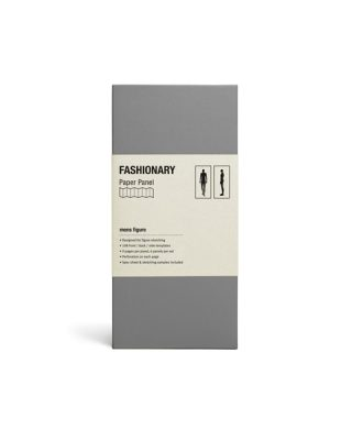 Skiču lapu komplekts Fashionary Paper Panel, Mens figures