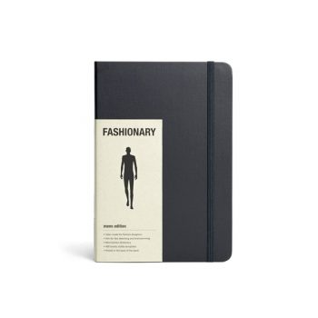 Skiču grāmata Fashionary Men, A5