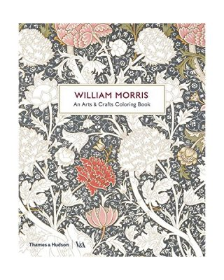 Krāsojamā grāmata William Morris, An Arts & Crafts