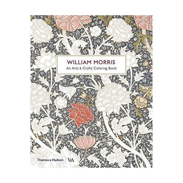Krāsojamā grāmata William Morris, An Arts & Crafts