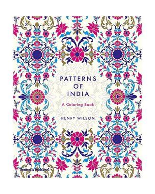 Krāsojamā grāmata Patterns of India