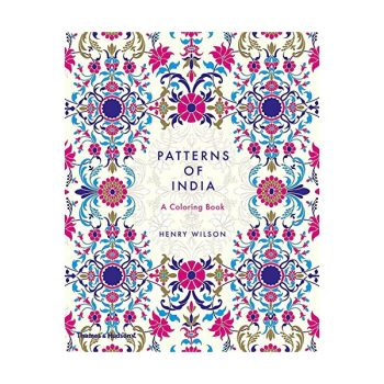 Krāsojamā grāmata Patterns of India